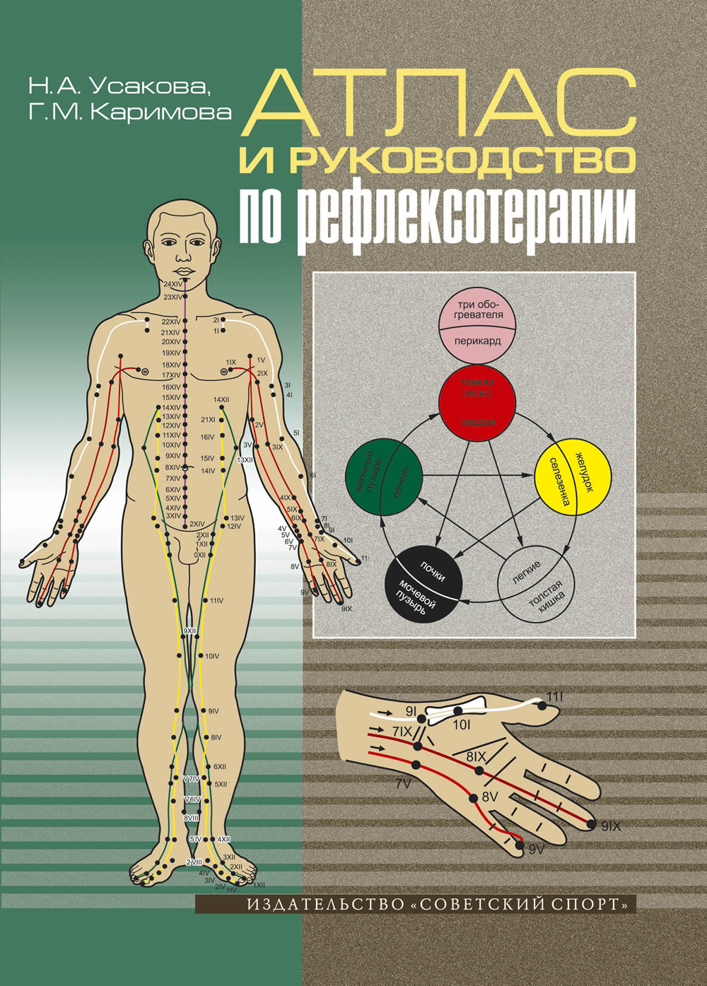 Руководство по рефлексотерапии